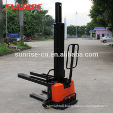 0.5T self lift electric pallet stacker with good quality CE Certificated