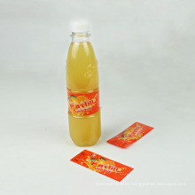 private plastic food packing drink bottle maker pet pvc shrink film sleeves label