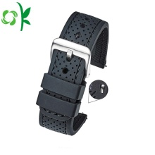 2018 New Fashion Silicone Watchstrap Band with Buckle