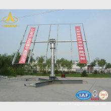 Street Steel Solar Post Light