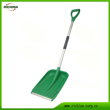 Plastic Snow Shovel with Wear Strip