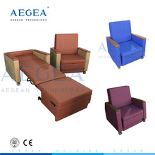 Meister vier PU Abdeckung Stationszimmer begleiten Sofa liegend Krankenhaus Liege Sessel Bett zum Verkauf