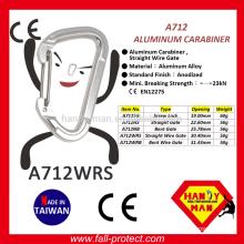 2017 New Design Rock Climbing Aluminum Carabiner With CE Certificate