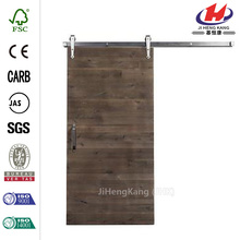 Barn Door with Arrow Sliding Door Hardware Kit