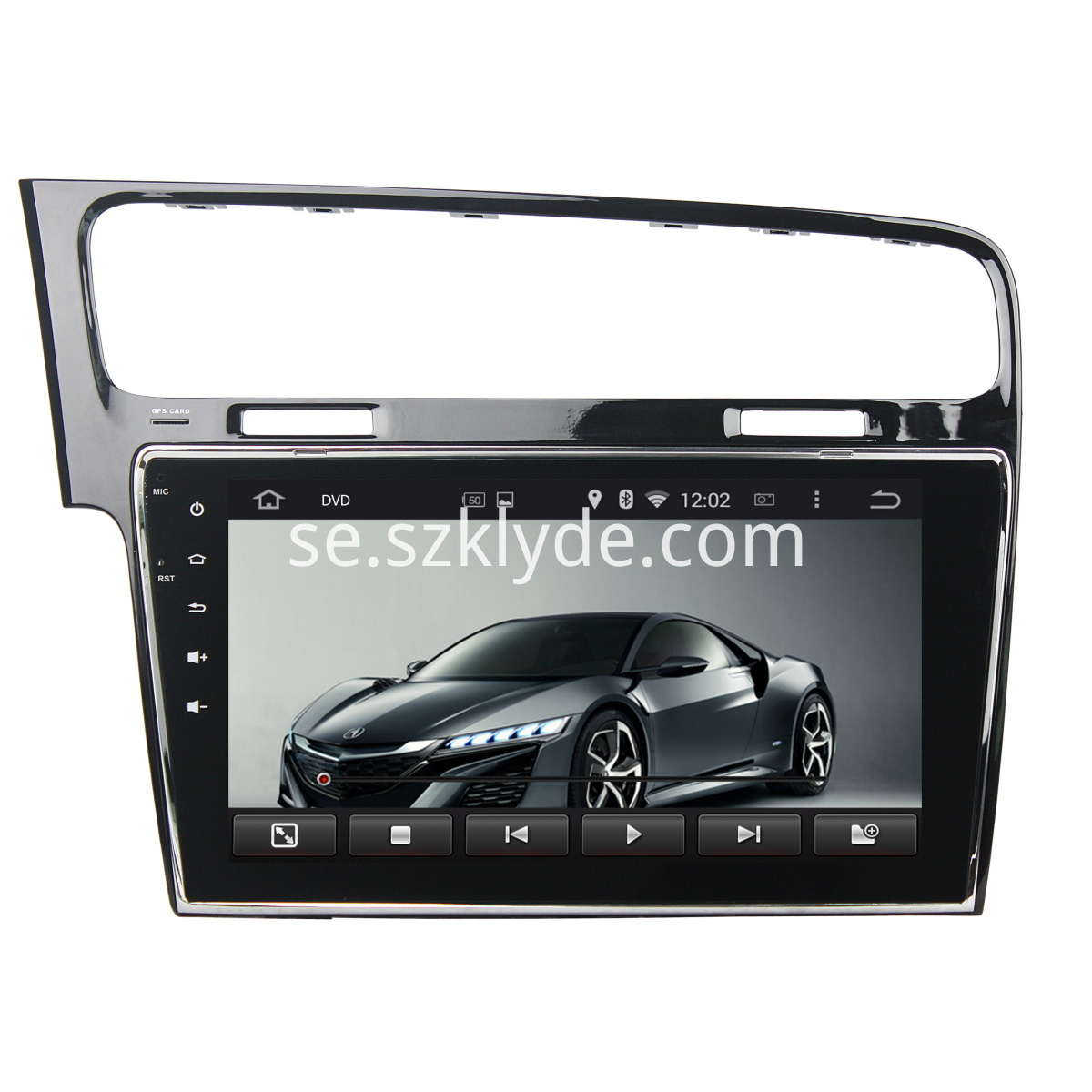 Golf 7 2013-2015 10.1 inch dvd player