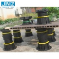 Outdoor WPC Floor Decking Adjustable Plastic Pedestal