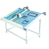 paperboard die cutting flat bed machine with computer