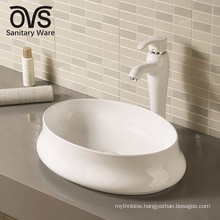 above counter basin ceramic hand wash sink