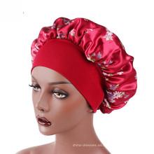 Pañuelos coloridos con patrón de sombrero de abrigo para hijab