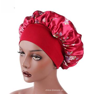 Bandanas coloridas do teste padrão do chapéu do headwrap do hijab