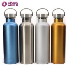 Isolierisolierte Edelstahlisolierte Wasserflasche im Freien 25oz mit Griff