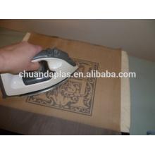 Facile à utiliser La feuille de pressage antiadhésive La planche à repasser La couverture La feuille de pressage en téflon
