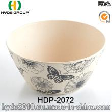 New Design BPA Free Ecological Bamboo Fiber Bowl (HDP-2072)