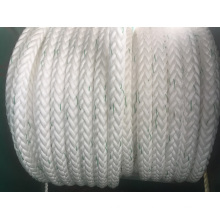 Corda química do PE da corda do poliéster da corda dos PP da corda de amarração de 12 cordas da fibra da costa