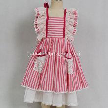 Dollcake remake baby girls red stripe dress