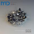 Custom Shoe Flower Buckle with Diamonds