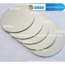 99,95% discos redondos de molibdênio puro