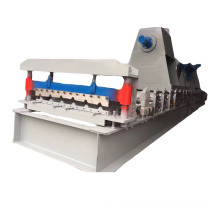 glazed tile and trapezoidal roll forming machine
