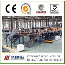 PU rockwool phenolic sandwich panel production line