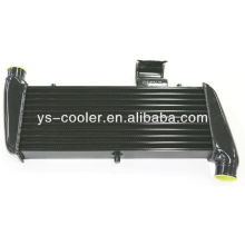 Hot selling aluminum plate and bar turbo intercooler, turbo intercooler pour universel auto