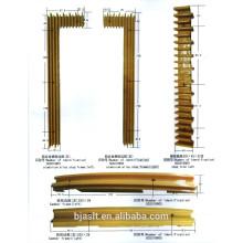 Liga de alumínio etapa frame / escada rolante partes
