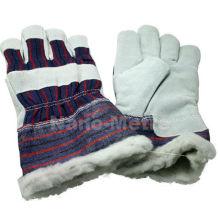 NMSAFETY кожаные рабочие перчатки на зиму перчатки езды