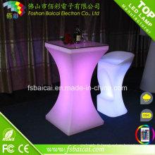 Table haute haute étanche à LED Outdoor Party