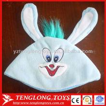 Новый дизайн горячей продажи детей прекрасный длинные уши плюшевые зимние шапочка шляпу