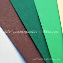 Esfoliante de papelão dobrável pintado com polpa de madeira
