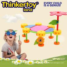 Brinquedos educacionais da construção para aprender minha casa