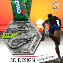 sedex 4p metal custom medal zamac