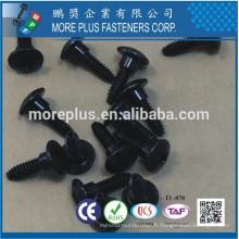 Fabriqué en Taiwan Zinc Black CR6 + Trilobuar thread sans Bumper Square Phil Combo Acier au carbone C1022 Vis