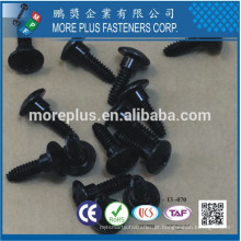 Feito em Taiwan Zinc Black CR6 + Trilobuar thread sem Bumper Square Phil Combo Carbon Steel C1022 Screws