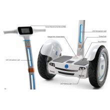auto balance de rueda, rueda inteligente, vespa de equilibrio del uno mismo con pasamanos