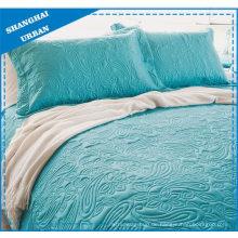 Quilted Polyester Coverlet Set aus massivem Jadetotem