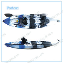 Single Sit on Top Plastic Sea Kayak Fishing