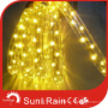 Luz da corda do diodo emissor de luz (3 fios, amarelo) (SRFL-3W)