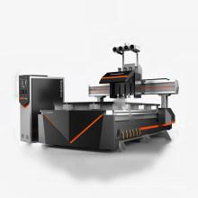 Router del CNC de 4 cabezas para los muebles que hacen la máquina