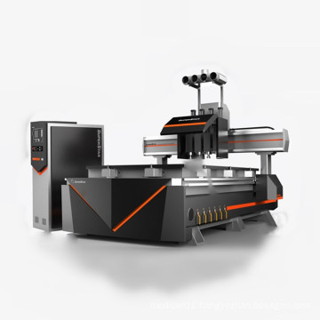 4 Heads Cnc Router For Furniture Making Machine