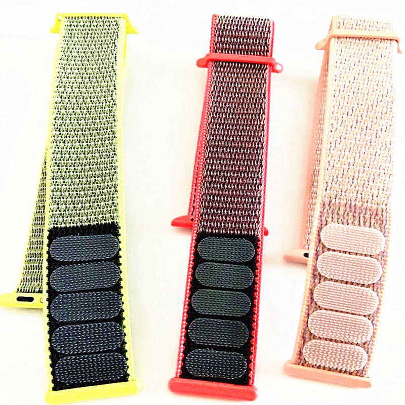 Nylon Loops Watch Strap