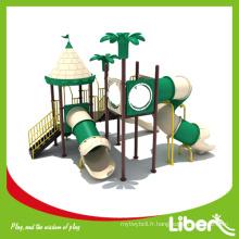LLDPE Type de matériau Pré-scolaire Équipement de terrain de jeu extérieur pour enfants, Gymnastique de jungle extérieure pour enfants