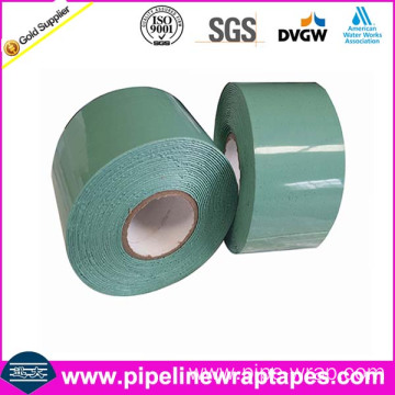 Viscoelastic body adhesive tape for flange