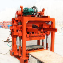 Small Block Making Machine & LS QTJ4-40 Manual Concrete Block Machine In Philippines