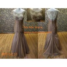 Элегантный иллюзия вернуться платье большая задница в вечернем платье фото с бисероплетение кружева вечернее платье до 14110