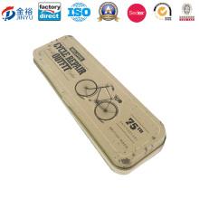 Porta pluma de metal rectangular de alta calidad Jy-Wd-2015120302