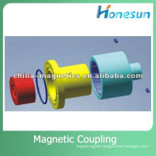 cam and groove coupling magnet
