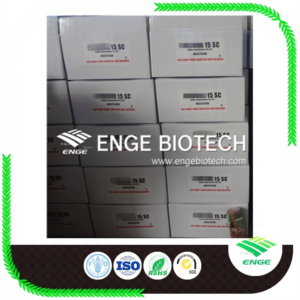 Alpha-Cypermethrin 10%15%SC for public health control