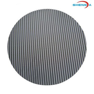 Round Shape Wedge Wire Sieve Plate