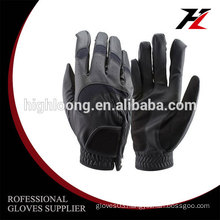 Customized new design fashion golf gloves women