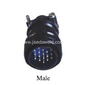 Welding Control Wire 19-Pin Plug